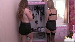 Chloe shows Brook her kinky room
